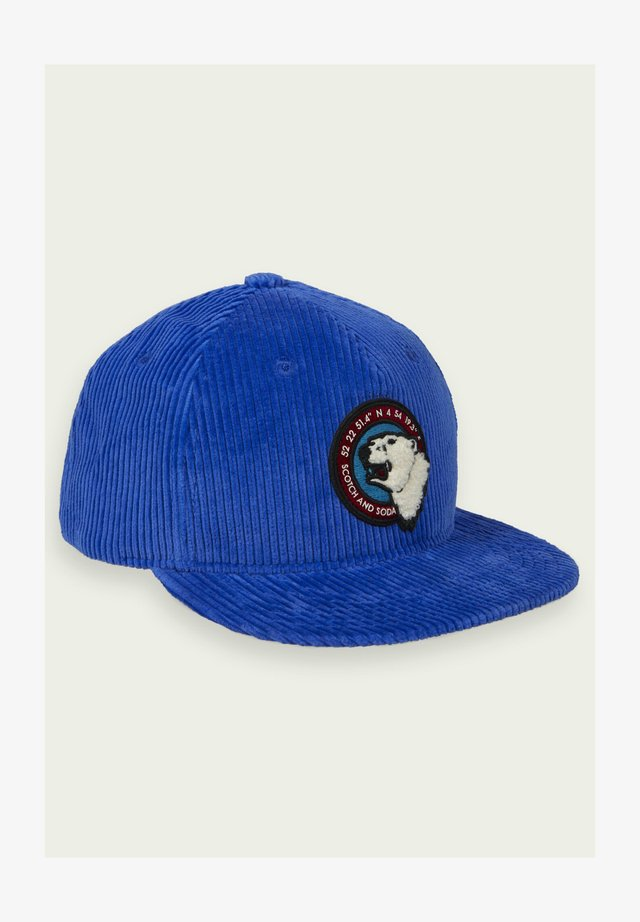Caps - sapphire blue