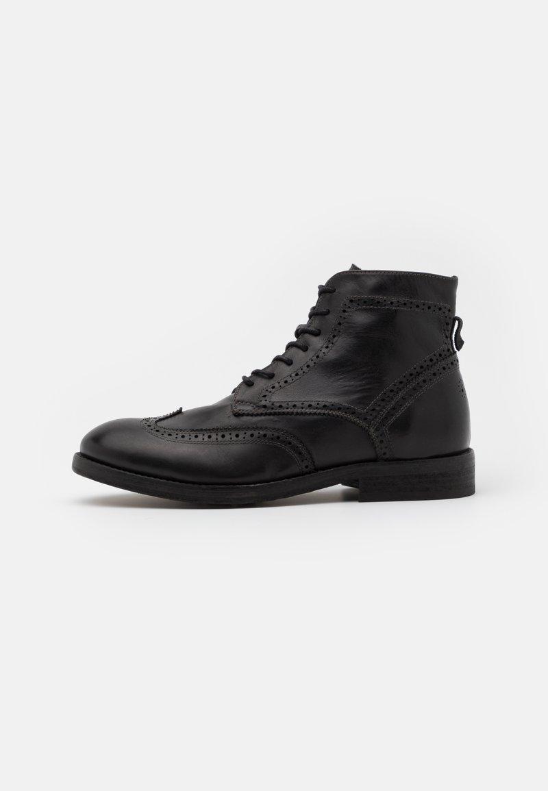 Hudson London - ANDERSON - Bottines à lacets - black