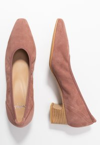 PERLATO - Classic heels - blush - 3
