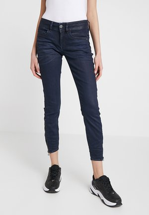 LYNN ZIP MID SKINNY ANKLE NEW - Jeans Skinny - lor superstretch