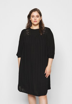CAREMSA KNEE DRESS - Vapaa-ajan mekko - black