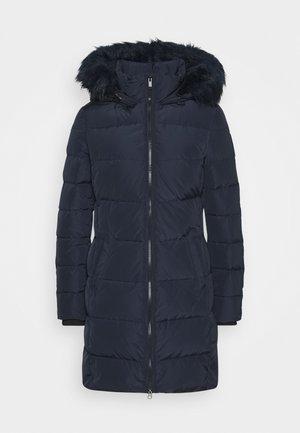 Kabát zprachového peří - deep blue