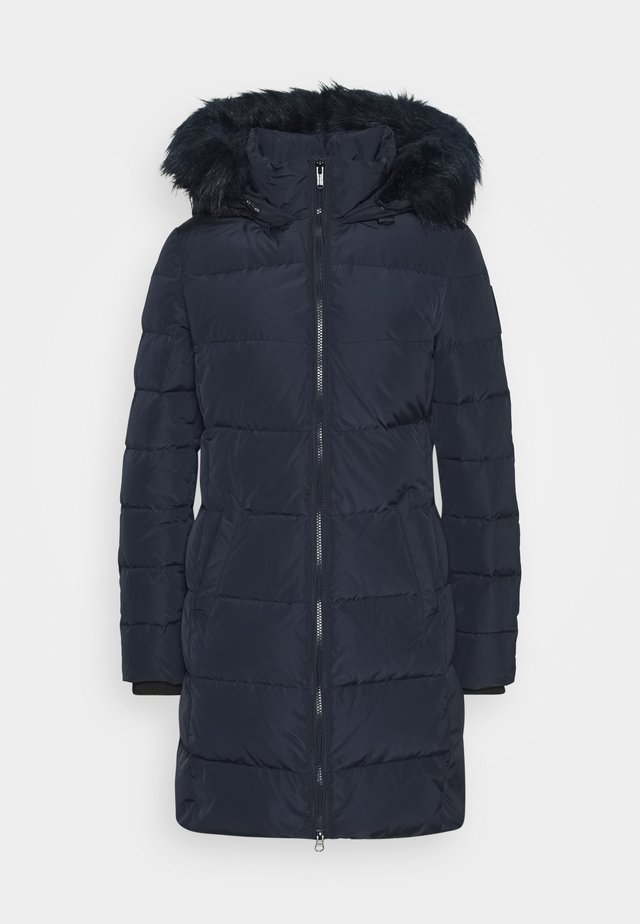 Down coat - deep blue