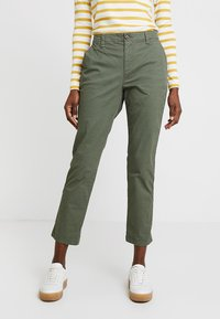 GAP - GIRLFRIEND - Pantalones chinos - greenway - 0