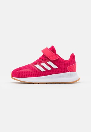 RUNFALCON I UNISEX - Zapatillas de running neutras - power pink/footwear white