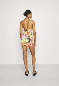 Jaded London - PLUNGE HALTER MINI DRESS   - Shift dress - multi - 2