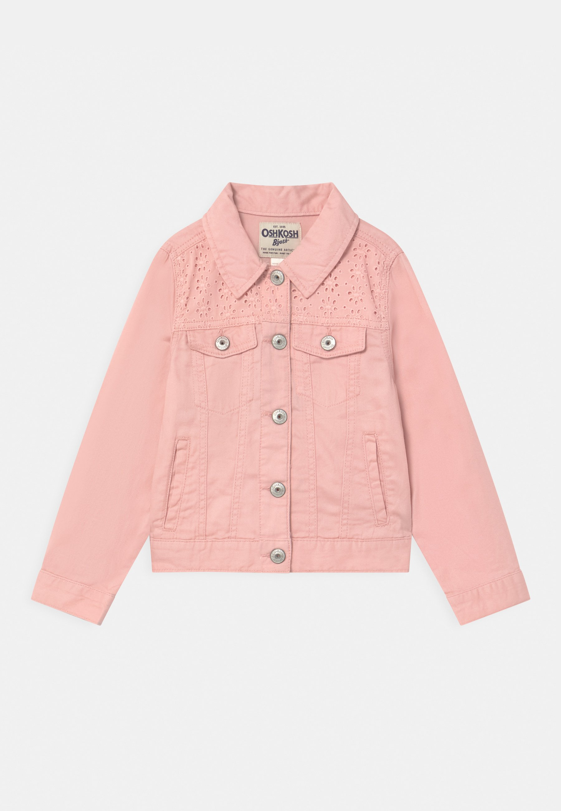 Kids EYELET - Denim jacket