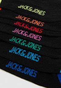 Jack & Jones - JACSUMMER  SHORT SOCK 7 PACK - Ponožky - black - 1