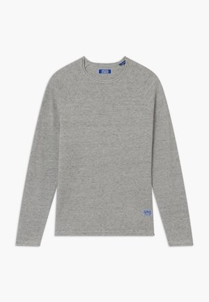 JJEHILL CREW NECK - Svetr - light grey melange