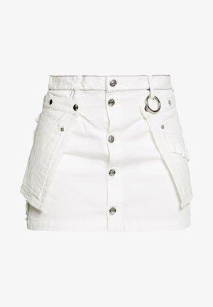 O-LADEL SKIRT - Minisukně - white