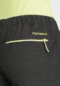Icepeak - MODICA - Pantaloncini sportivi - anthracite - 3