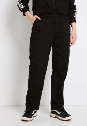 WM AUTHENTIC CHINO WMN - Chinos - black