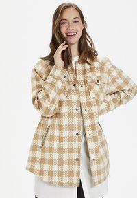 Culture - CUSARIA SHIRT JACKET - Winter jacket - tannin - 0