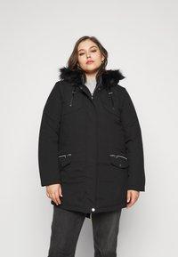 Evans - Winter coat - black - 1