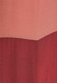 Closet - GATHERED NECK A LINE DRESS - Day dress - brick - 2
