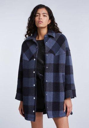 Short coat - dk blue black