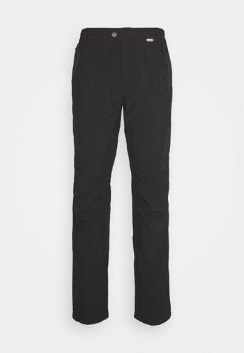 HIGHTON - Outdoorové kalhoty - black