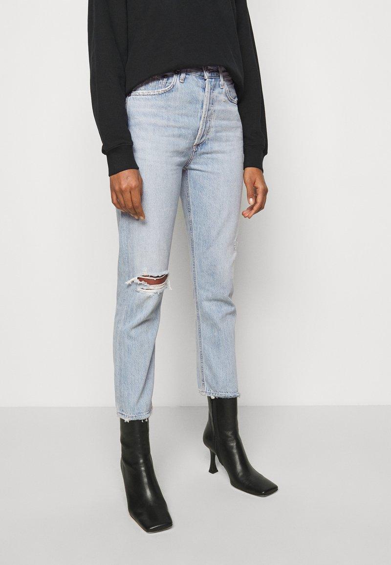 Agolde - RILEY - Straight leg jeans - shatter