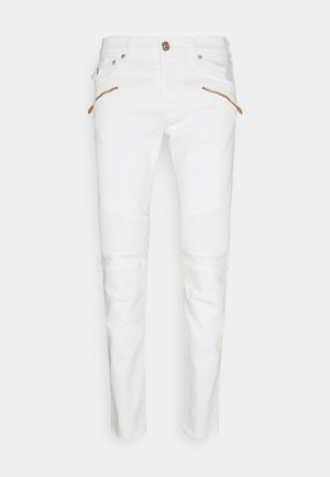 ROCCO COMFORT - Slim fit jeans - white