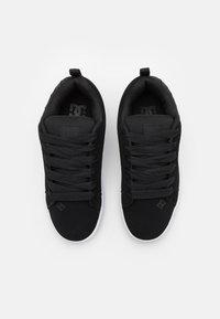 DC Shoes - COURT GRAFFIK UNISEX - Scarpe skate - black - 3
