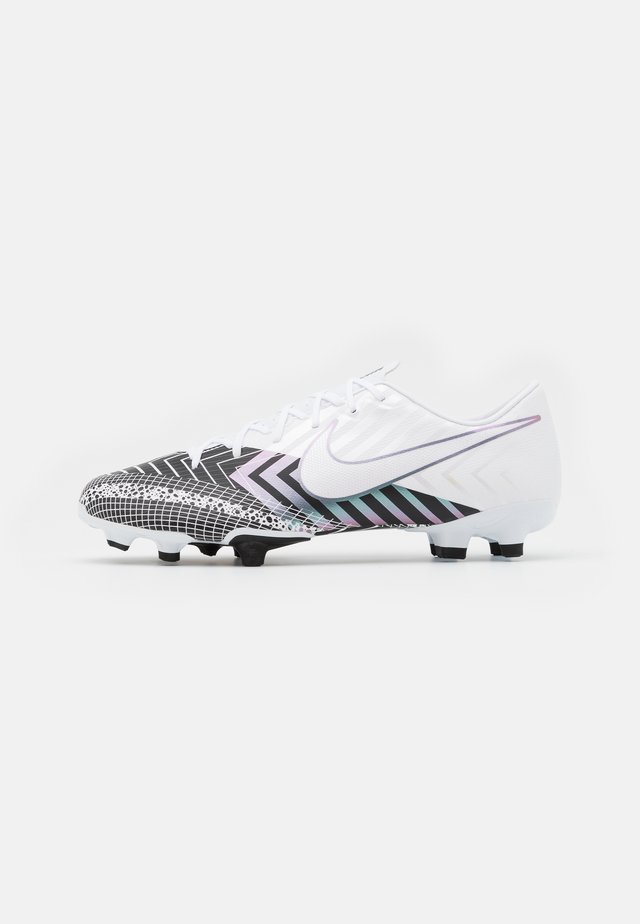 MERCURIAL VAPOR 13 ACADEMY MDS FG/MG UNISEX - Moulded stud football boots - white/black