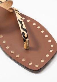 Kurt Geiger London - MYRA - T-bar sandals - cream - 2