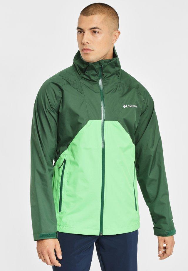 RAIN SCAPE - Impermeabile - green
