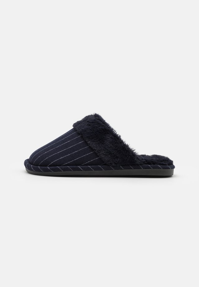 LACHLAN SLIPPERS - Pantoffels - navy