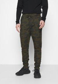 Brave Soul - HADDONBIKER - Cargo trousers - khaki - 0