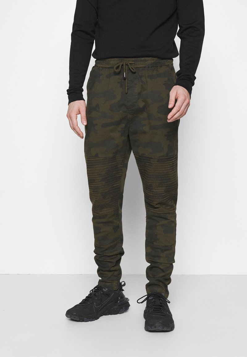 Brave Soul - HADDONBIKER - Cargo trousers - khaki