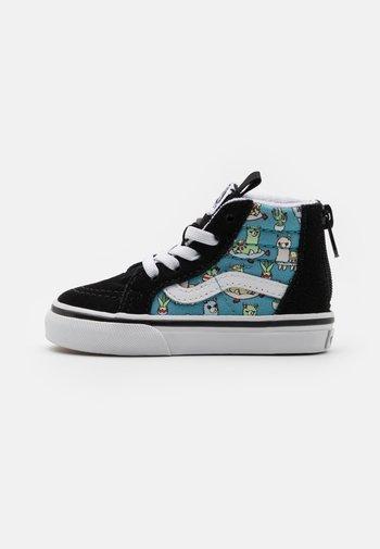 SK8 ZIP UNISEX - Sneakers hoog - delphinium blue/true white