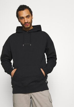 CHECKER ARCH HOODY - Sweatshirt - black