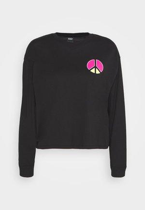 GRAPHIC LONG SLEEVE  - Langærmede T-shirts - neon caviar