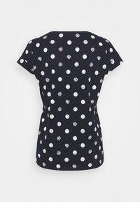 Esprit - CORE - Print T-shirt - navy - 1