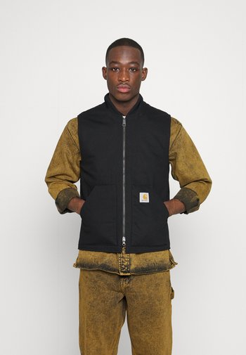 VEST DEARBORN - Waistcoat - black rigid