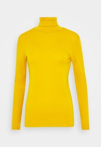 Benetton - TURTLE NECK - Long sleeved top - mustard - 4