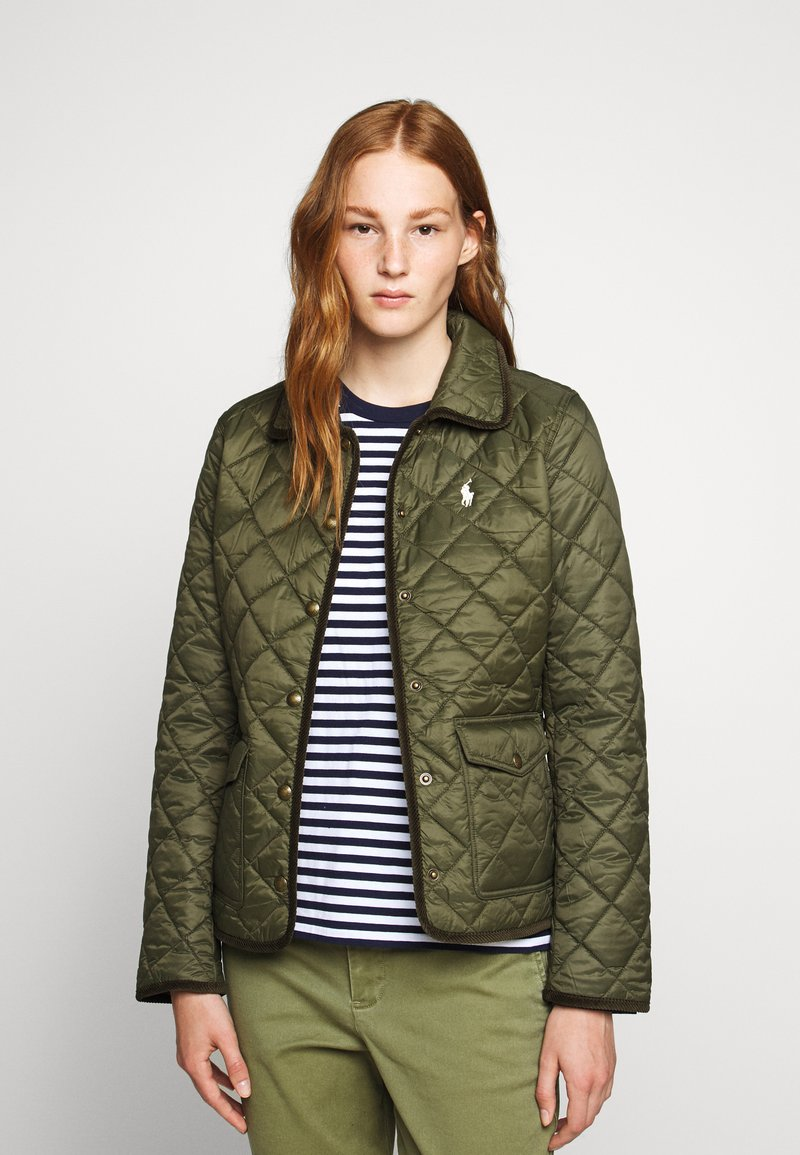 Polo Ralph Lauren - BARN JACKET - Light jacket - expedition olive