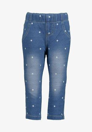 BASICS - Jeggings - jeansblau aop