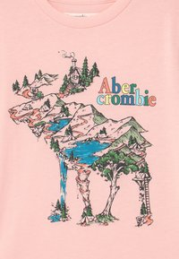 Abercrombie & Fitch - Print T-shirt - pink - 2