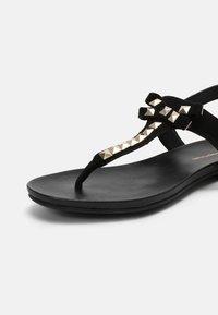 Copenhagen Shoes - MAY - T-bar sandals - black - 7