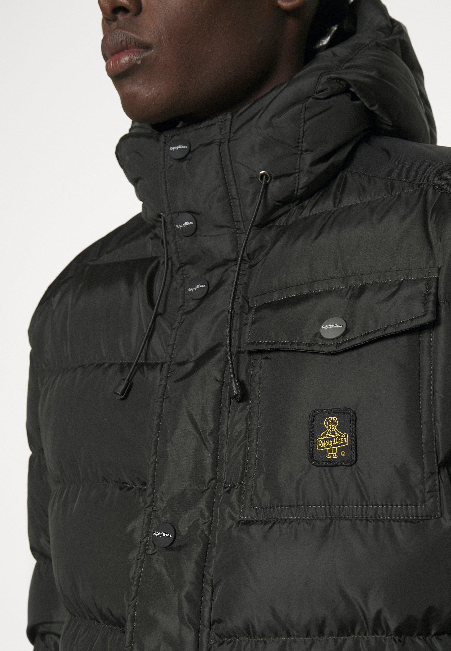Men LONG HUNTER JACKET - Down coat