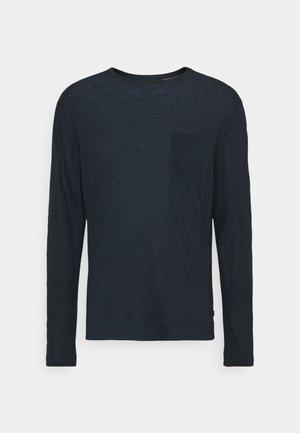 DAVIS - Long sleeved top - navy