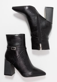 RAID - ELYSHA - High heeled ankle boots - black - 3