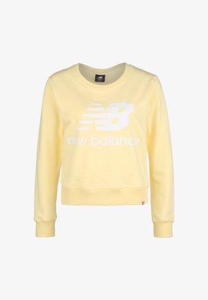 ESSENTIALS CREW SWEATSHIRT DAMEN - Sweatshirt - yellow