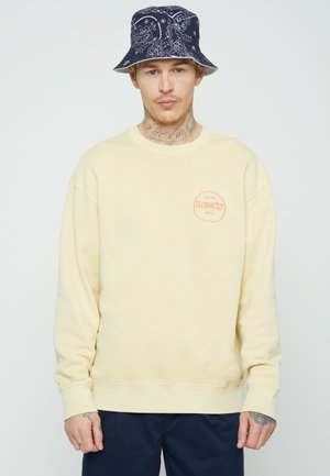 RELAXED GRAPHIC CREW - Collegepaita - yellows/oranges