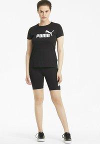 Puma - T-shirt imprimé - puma black - 1