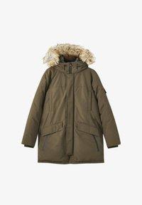 PULL&BEAR - Winter coat - khaki - 3