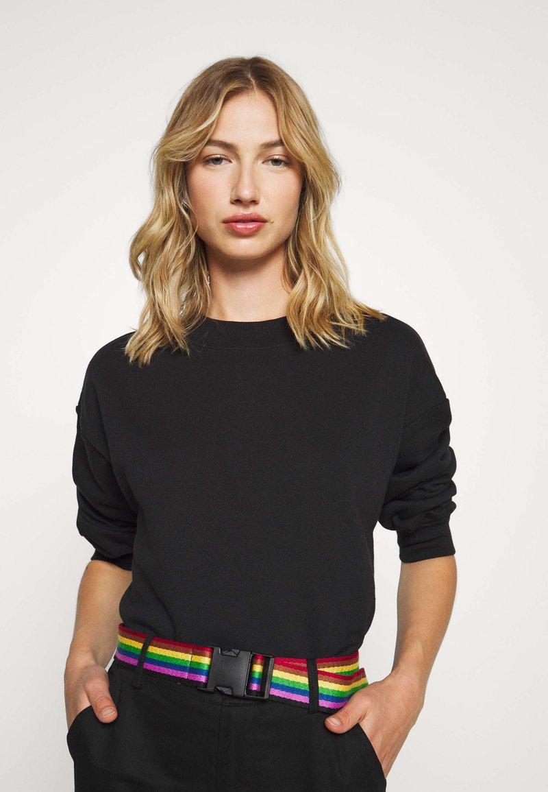Monki - Sweatshirt - black
