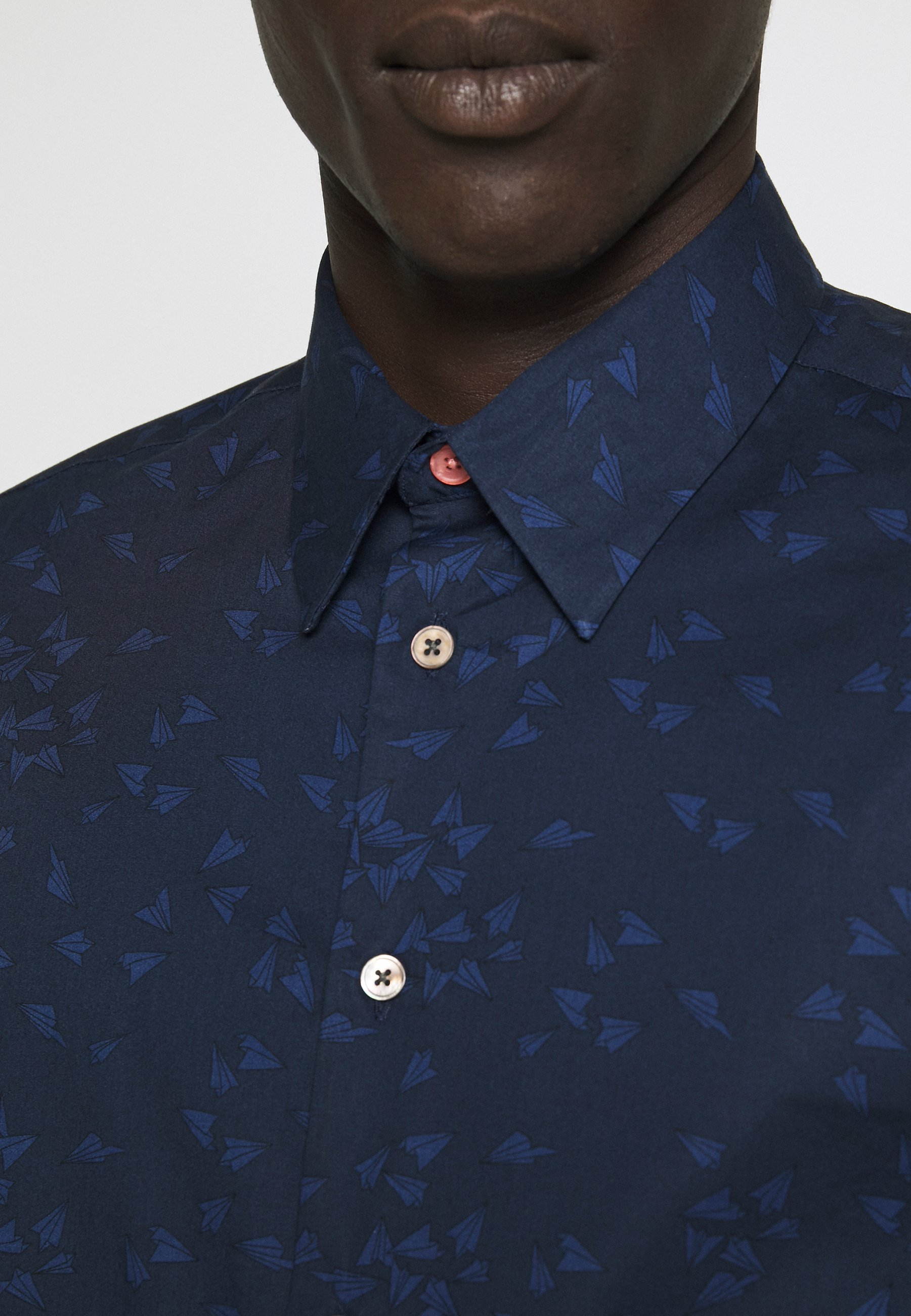 PS Paul Smith MENS TAILORED FIT SHIRT PAPER PLANE - Chemise - navy