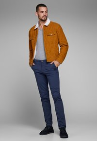 Jack & Jones - MARCO BOWIE - Chinos - navy - 1